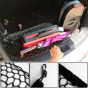 Lưới treo đồ cốp sau ô tô màu đen