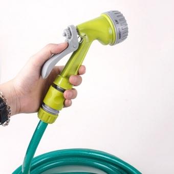 Bộ vòi xịt rửa xe kèm dây siêu bền 10 mét 7 chế độ GT532 (Xanh)