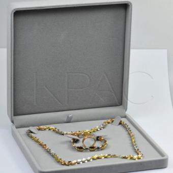 Hộp đựng trang sức bộ lớn Kpac (Xám)