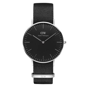 Đồng hồ nữ dây vải Daniel Wellington DW00100151 (Đen).