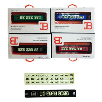 Bảng ghi số điện thoại mẫu 2