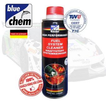 Dung dịch Vệ sinh Hệ thống nhiên liệu Động cơ Xăng (Fuel System Cleaner) Bluechem 250ml