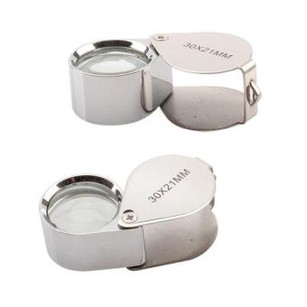 NEW 30x 21mm Magnifier glass Jewelers Eye Loupe F (Intl:)