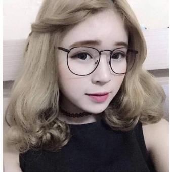 Mắt kính ngố nobita cute baby dễ thương (Vàng)
