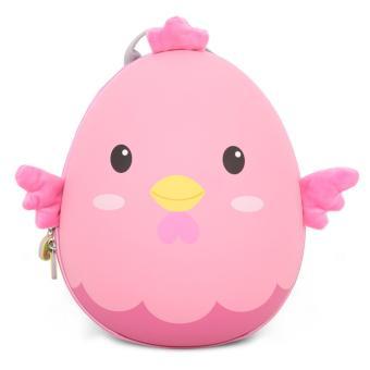 Balo trứng gà cho các bé học sinh mẫu giáo (Hồng)