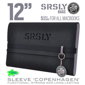 Túi chống sốc SRSLY cho MacBook 12 inch (Xám/Đen)
