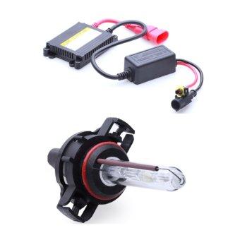 Bộ đèn xenon HID 5202 xe ôtô 35W 6000K (Trắng )