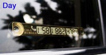 Bảng ghi số điện thoại mẫu 1