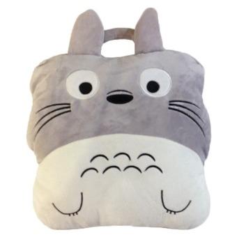 Bộ chăn gối xách tay mèo totoro
