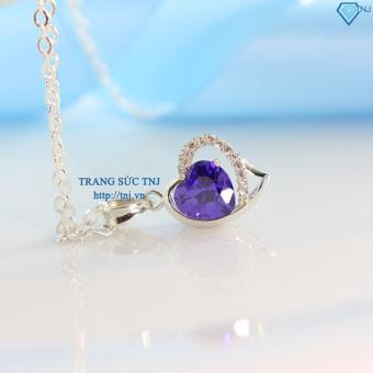 Dây chuyền bạc nữ trái tim DCN0035