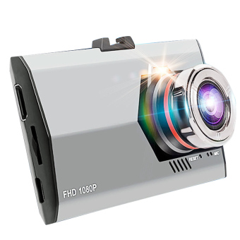 1080P Full HD 3 inch LCD Screen Ultra-thin Night Vision Wide Angle Motion Detection Car Vehicle DVR Camcorder Dash Cam Camera Video Recorder - intl