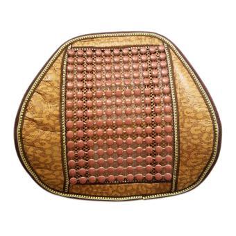 Tấm lưới tựa lưng ghế oto chống mỏi lưng hạt đá hàng loại 1