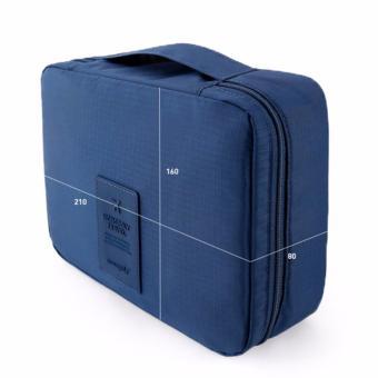 Túi du lịch đựng đồ cá nhân dành cho Nam (xanh dương đậm)