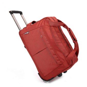 Túi du lịch có cần kéo HQ205891 (đỏ)