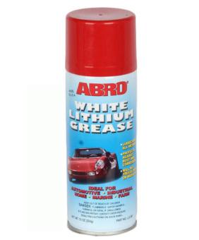 Mỡ bò trắng dạng xịt cho ô tô xe máy Abro White Lithium Grease 450g
