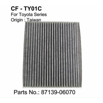 Lọc gió điều hòa than hoạt tính CAF dùng cho xe Toyota Fortuner