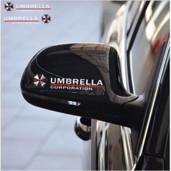 Bộ 2 tem dán gương chiếu hậu Umbrella TG06