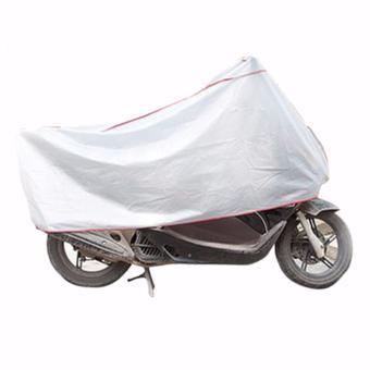 Bạt phủ xe máy siêu dai chống nóng (Xám)