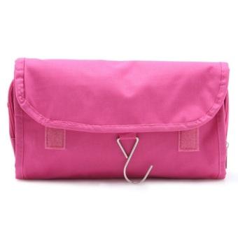 Túi đựng đồ du lịch cá nhân đa năng chống thấm có móc treo TNT (Hồng)