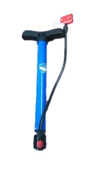 Ống bơm bánh xe mini tiện lợi ( xanh)