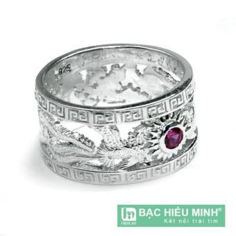 Nhẫn nữ Bạc Hiểu Minh nu084