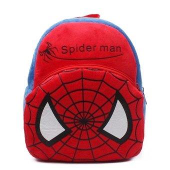 Balo người nhện Spider man QTT (Đỏ)