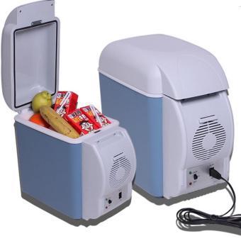 Tủ lạnh cho xe hơi 7.5L(Xanh dương nhạt)