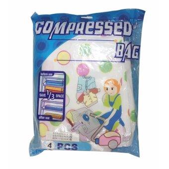 Bộ 4 túi hút chân không compressed bag