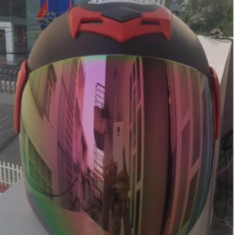 Nón bảo hiểm 3/4 Napoli, có kính phản quang