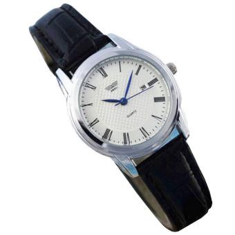 Đồng hồ nữ dây da SWIDU K0KN91 (Trắng)