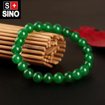 Vòng tay thạch anh xanh ngọc Sino VTSN038