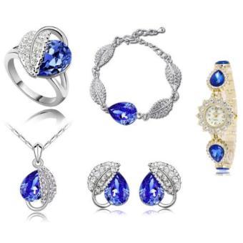 Bộ trang sức đồng hồ thời trang minhtueshop MT14-52680