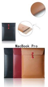 Bao da chống xốc macbook 13.3 seonhi DAMA (Nâu cánh gián)