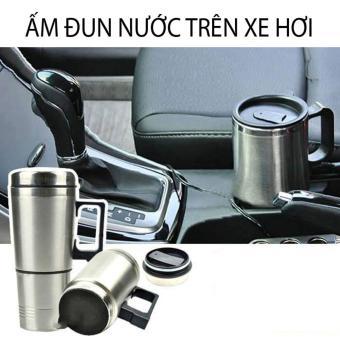 Ấm đun nước có cốc trên Xe Ô Tô