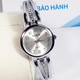 Đồng hồ nữ dây thép không gỉ RENOS R8811