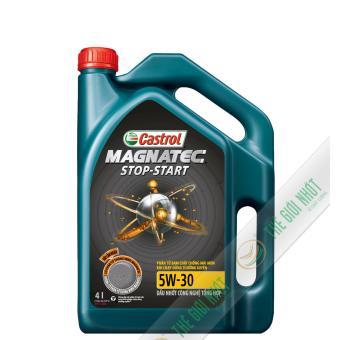 Nhớt tổng hợp xe ô tô Castrol MAGNATEC STOP-START 5W-30 SN/CF 4L