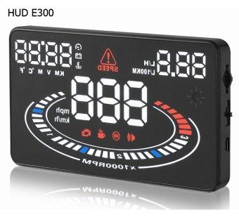 Thiết bị hiển thị tốc độ lên kính lái Novelty HUD E300