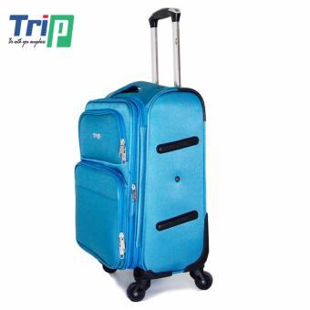 Vali Vải TRIP P036 Size M - 24inch (Xanh thiên thanh)