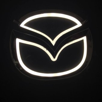 Logo xe Mazda có đèn 10,x7,9cm