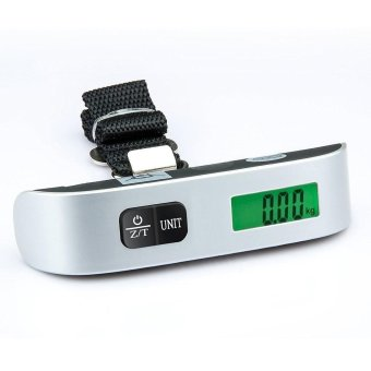 niceEshop Luggage Scale Belt Scale Express Scale Electronic Scale Luggage Scale With Backlight (50kg / 10g ) - intl