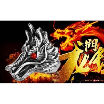 Nhẫn nam Sparta trang sức hình đầu Rồng / Sparta Dragon Ring