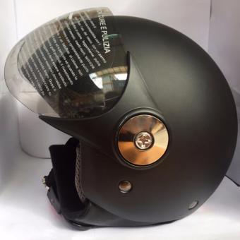 Mũ bảo hiểm trùm 780 kính GRS (đen nhám)
