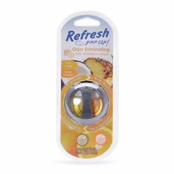 Nước hoa mini cài cửa sổ điều hòa ô tô Refresh Your Car 09028 (Hương dứa và quýt)