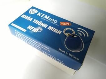 Khoá chống trộm xe máy bằng thẻ từ KTM100 (RFID)