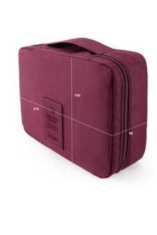 Túi cá nhân đựng đồ đi công tác dành cho Nam (Màu rượu vang)