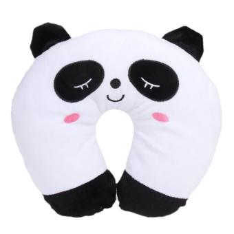 Multi-Color Cartoon U Shaped Travel Pillow Neck Support Head(Panda) - intl