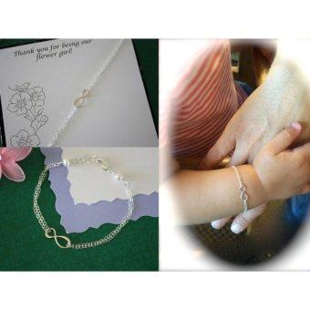 Lắc tay cho bé LDE0319 Mini Jewelry bạc S925 Italia