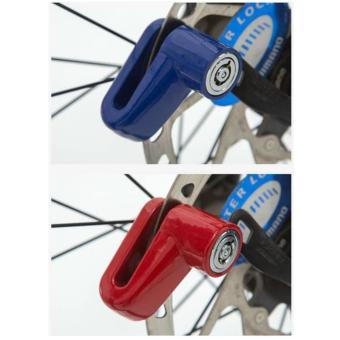 Khóa phanh đĩa xe máy chống trộm (xanh)