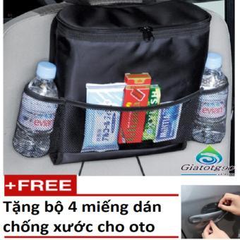 Túi Đựng Đồ Lạnh Du Lịch Trên Ôtô Tặng Kèm Bộ 4 Miếng Dán Chống Xước HQ206066-239