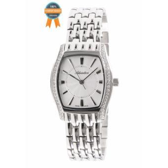 Đồng hồ nữ dây kim loại Adriatica A3417.5113QZ (Bạc phối trắng)